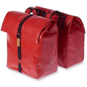 Basil Urban Dry - Bolsa bicicleta - 50l rojo